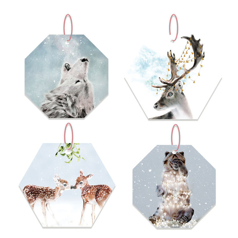 LA LA LAND-Woodland creature Ornament set