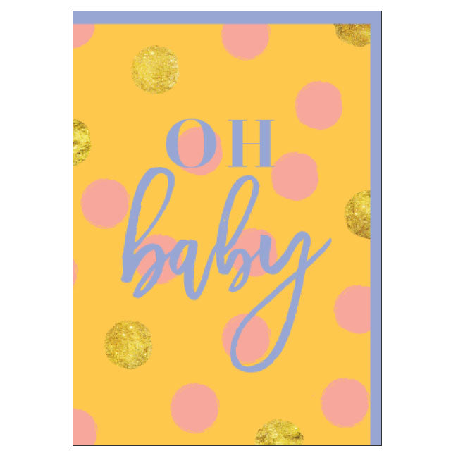 CANDLEBARK Oh Baby card