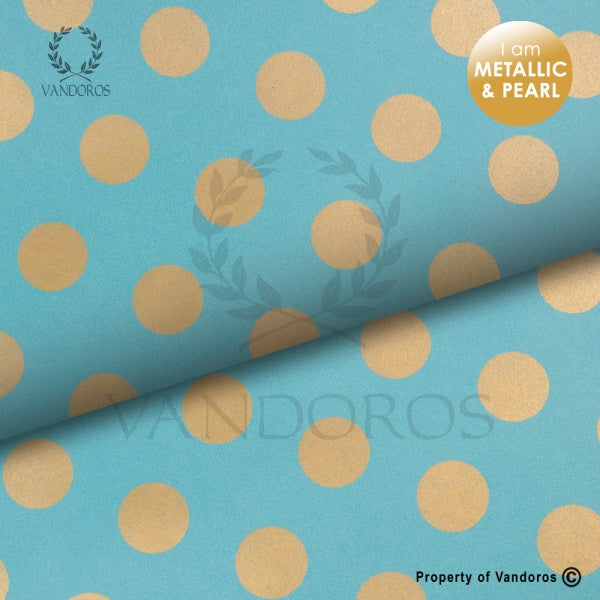 VANDOROS Uncoated Pearls collection-Turquoise Copper