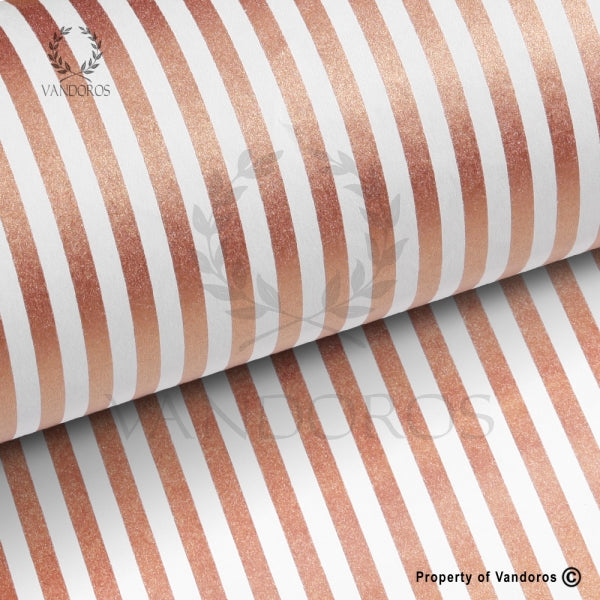 VANDOROS Candy Metallic collection-Copper stripe