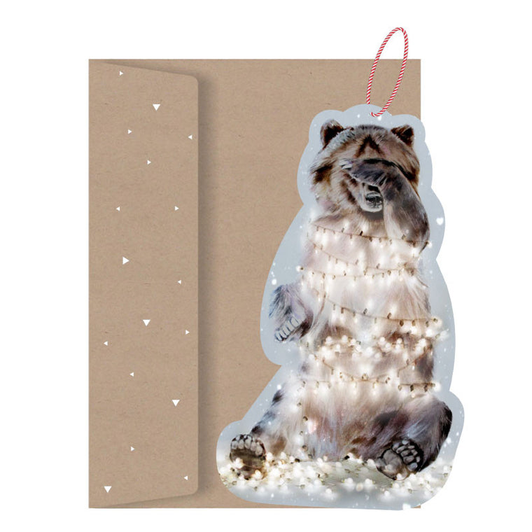 LA LA LAND-Beary Lights Paper Ornament