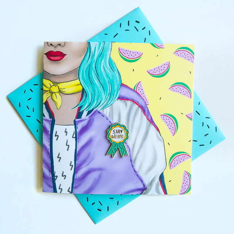 LA LA LAND- Weird Badge (PG)Pin Card