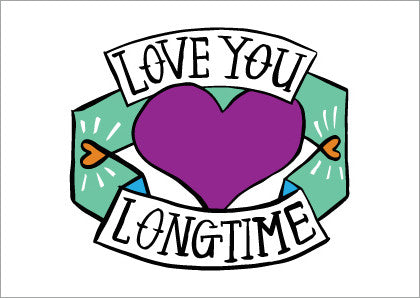 AHD love you long time card