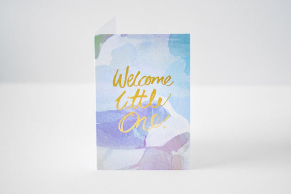 Rachel Kennedy Designs Welcome Little One Greeting Card