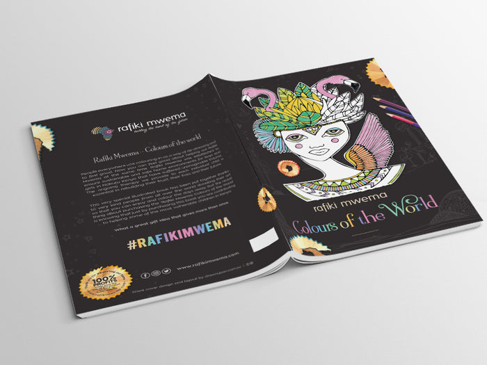 RAFIKI MWEMA charity colouring book