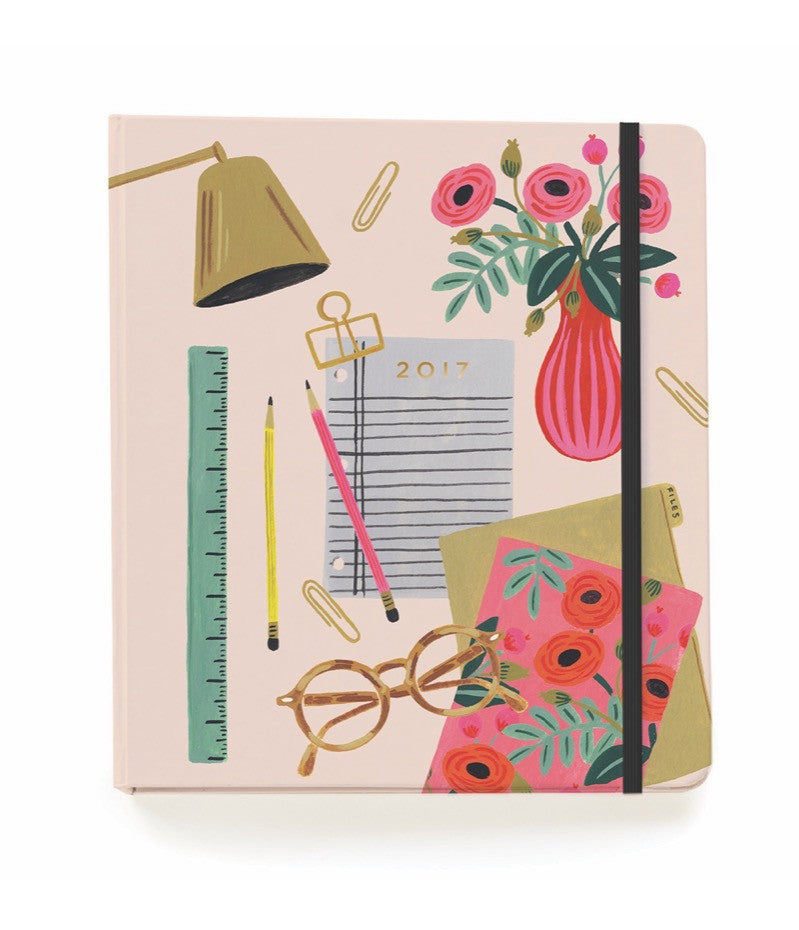 RIFLE PAPER CO. 2017 Planner-Desktop