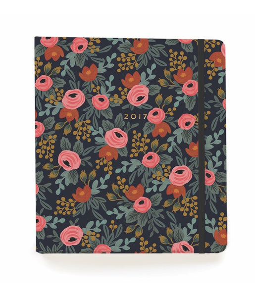 RIFLE PAPER CO. 2017 Planner-Rosa