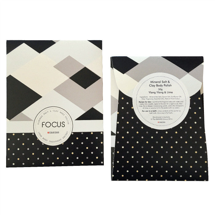 DAN300 Luxe Body treatment sachet-FOCUS