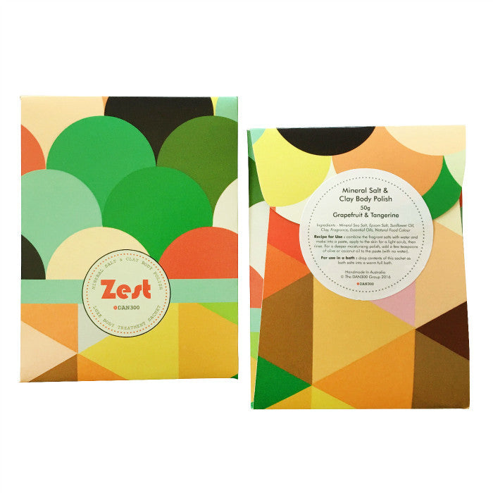 DAN300 Luxe Body treatment sachet-ZEST