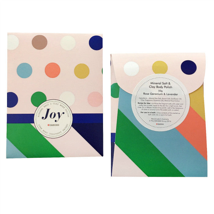 DAN300 Luxe Body treatment sachet-JOY
