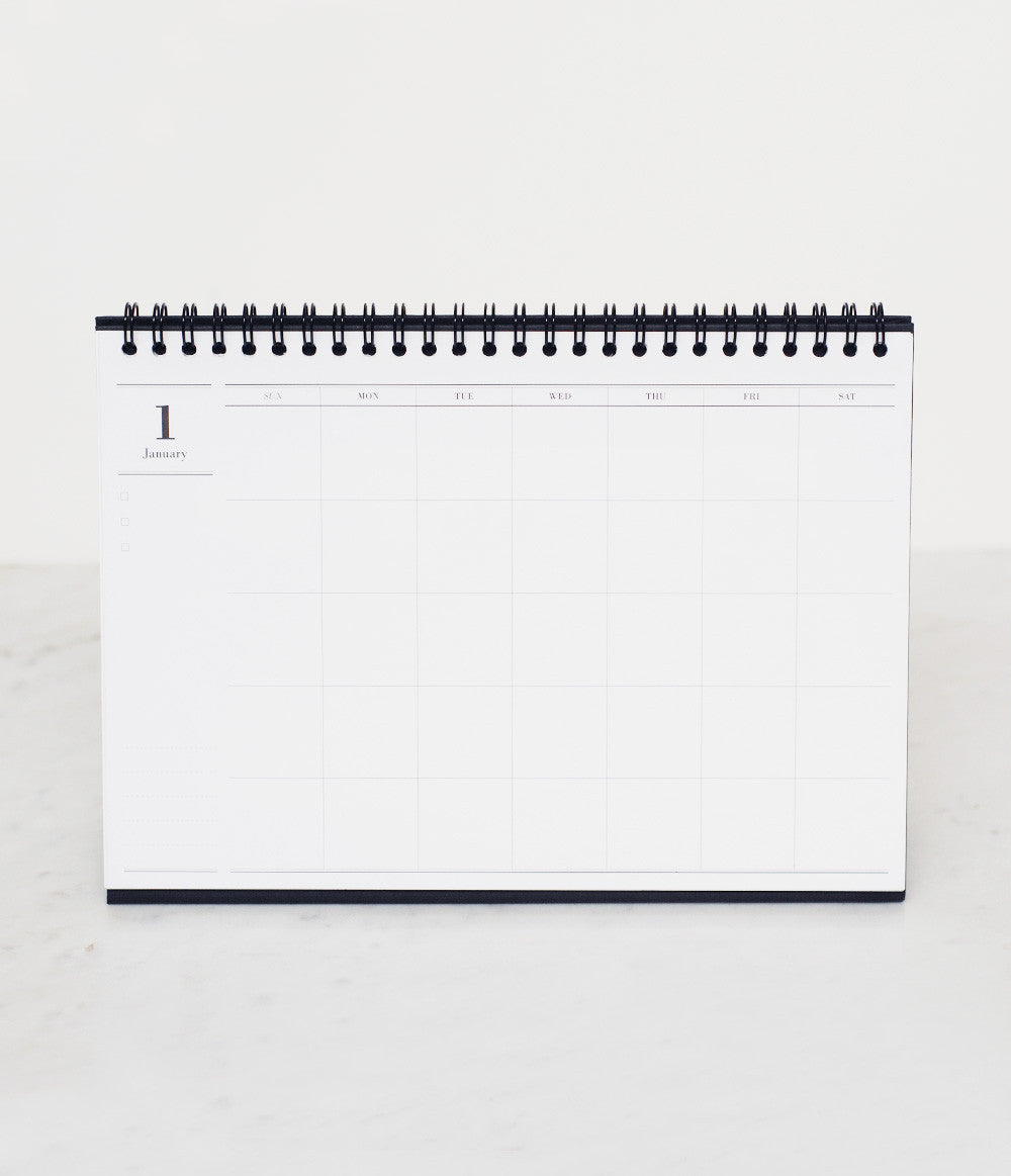 PAPERWAYS STICKY DESK PAD - WEEKLY - RULED