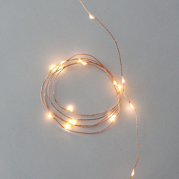 DOWN TO THE WOODS String lights COPPER Plug in 10 Metres