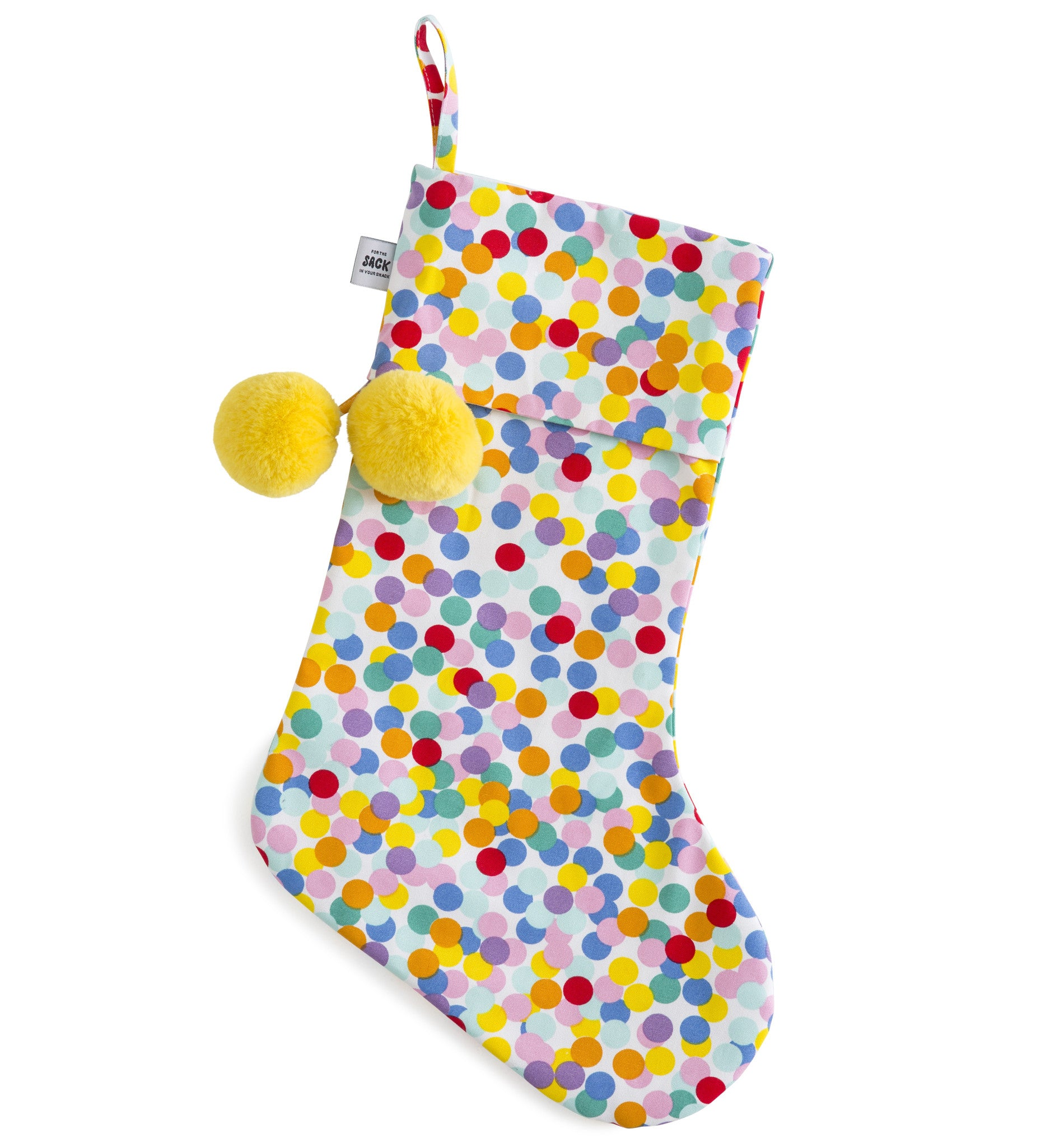 SACK ME Christmas Stocking-Confetti