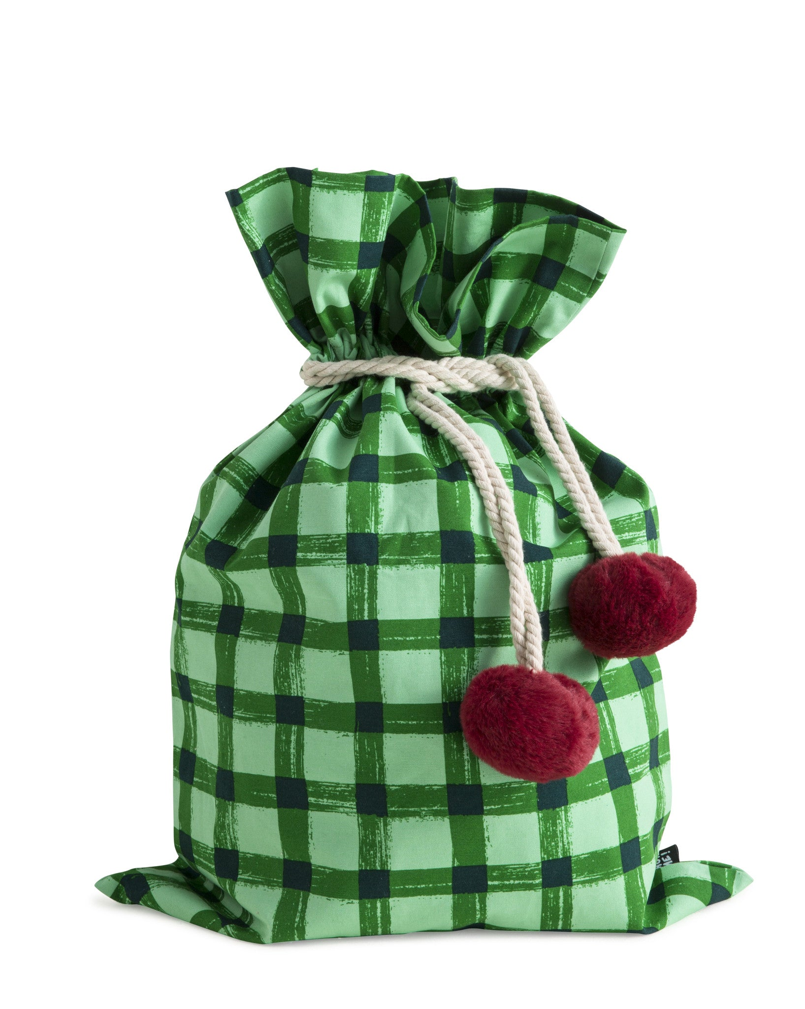 SACK ME Swag Sack-Green Gingham