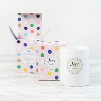 DAN300 Boxed LUXE Candle-JOY-Gingerflower & Lilly Pilly