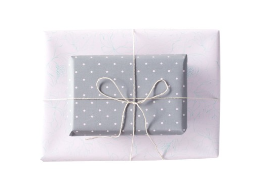 Blushing Confetti Double Sided Gift Wrap – Dainty Musk