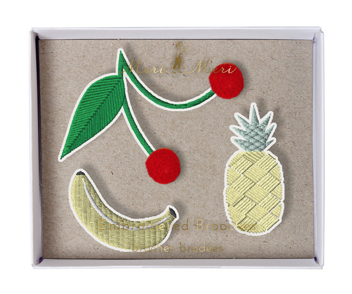 MERI MERI Brooches -Fruit