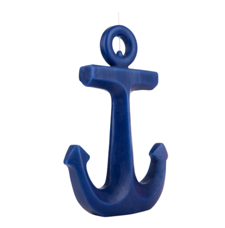 SUNNYLIFE Anchor Candle Large - Navy