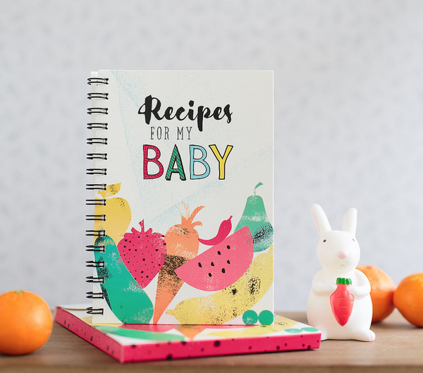 WRITE TO ME Recipes for my baby(spiral)