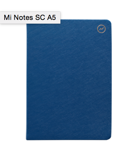 MI GOALS Mi Notes - Navy