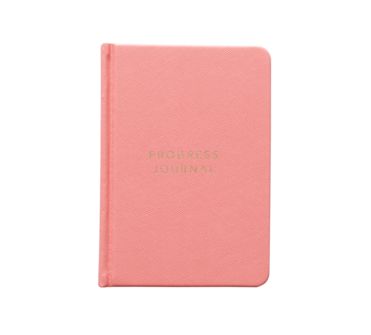 MI GOALS Progress Journal - Coral - Progress Journal Coral