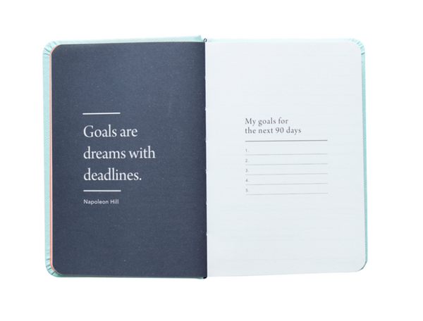 MI GOALS Progress Journal -Mint - Progress Journal Mint