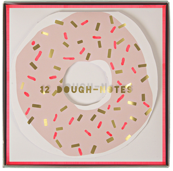 MER MERI Doughnut notecards-Dough-notes Donuts