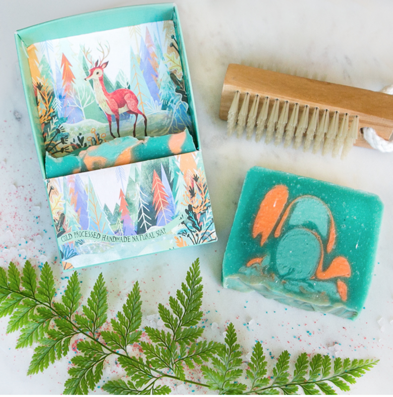 LA LA LAND-Woodland deer soap story