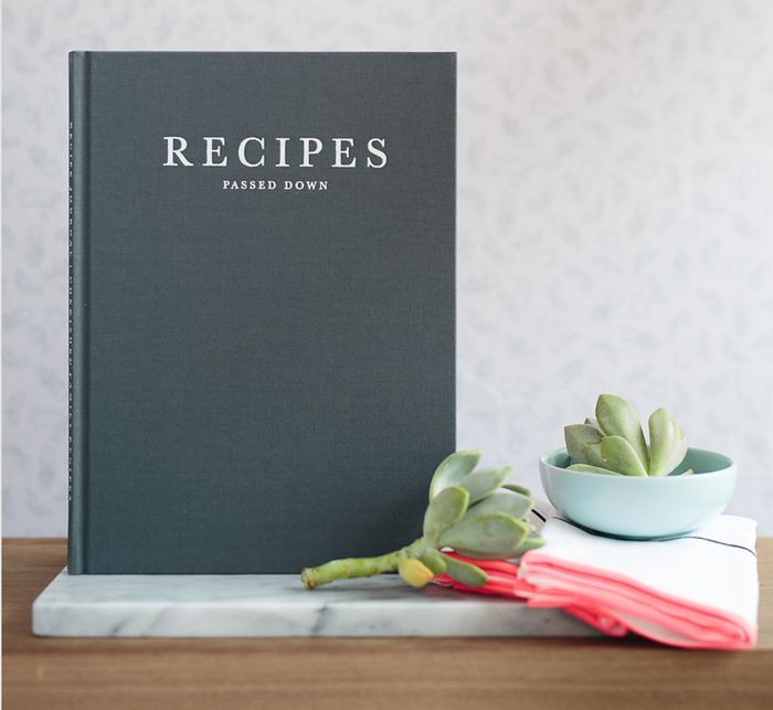 WRITE TO ME Recipes Passed Down (Case Bound)
