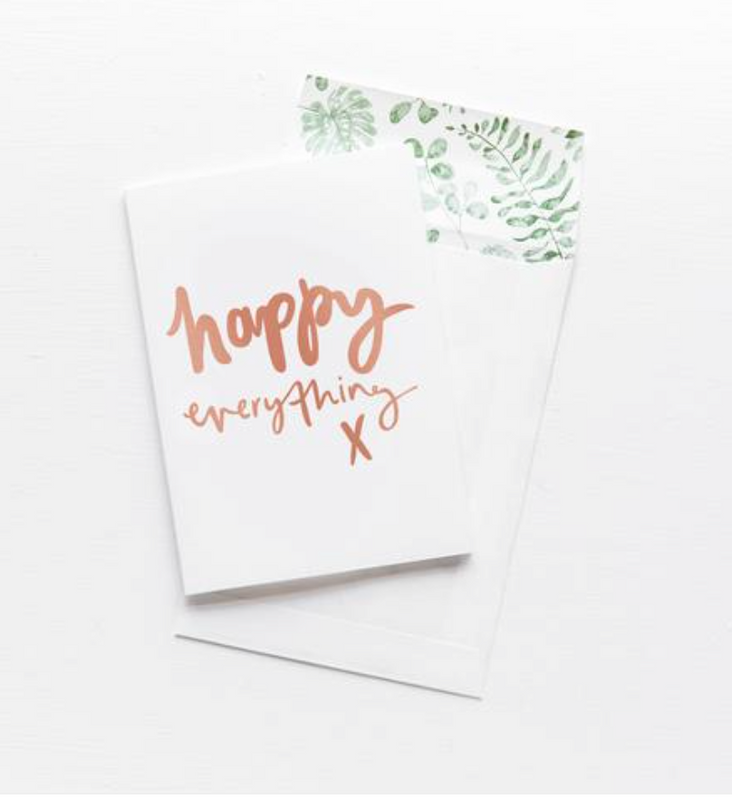 EMMA KATE CO Happy Everything - Greeting Card