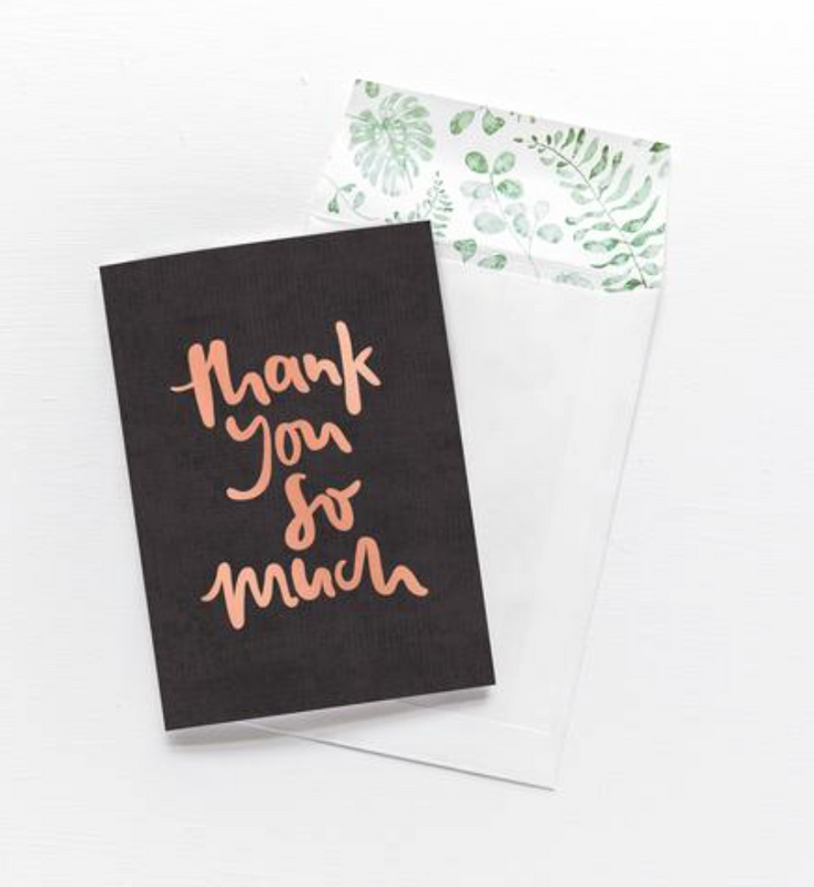 EMMA KATE CO Thank You So Much  - Greeting Card