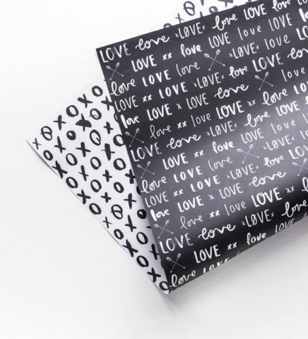 EMMA KATE CO The Lovers Double-Sided Wrap