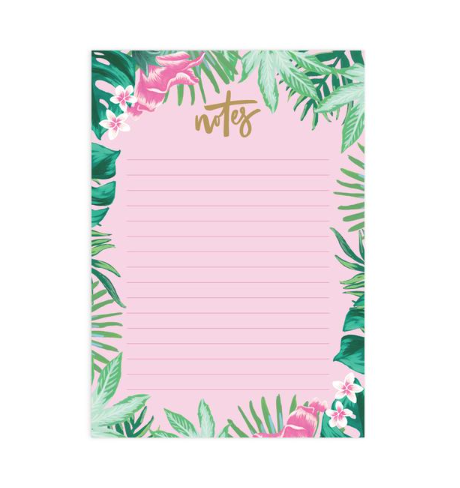 Fox & Fallow Tropical A5 Notepad Refill