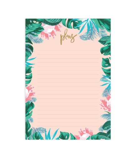 Fox & Fallow Tropical A4 Notepad Refill