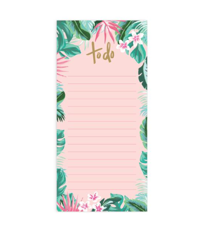 Fox & Fallow Tropical DL Notepad Refill