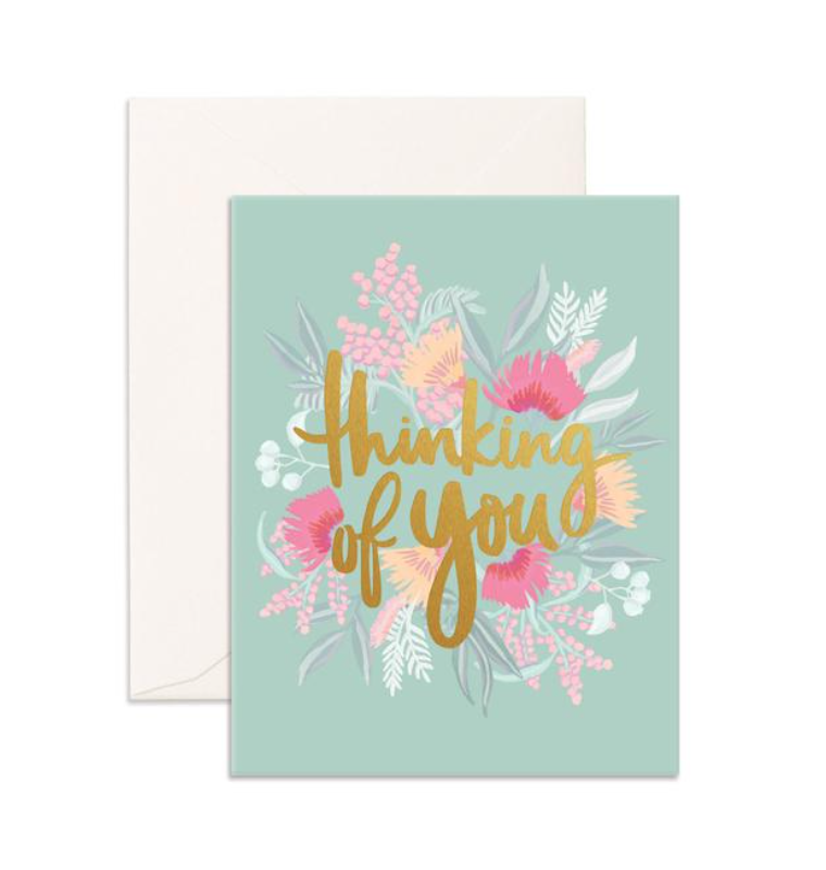 Fox & Fallow Thinking of you Greeting Card