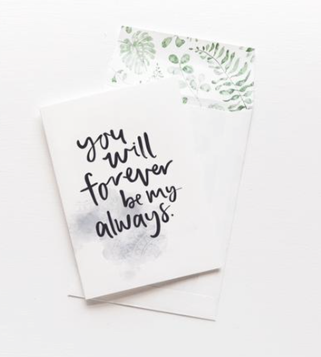 Emma Kate Co You will Forever Greeting Card