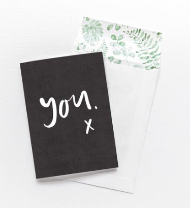 Emma Kate Co You x - Greeting Card