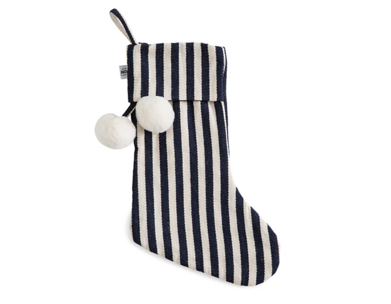 SACK ME Christmas Stocking-Classic french navy