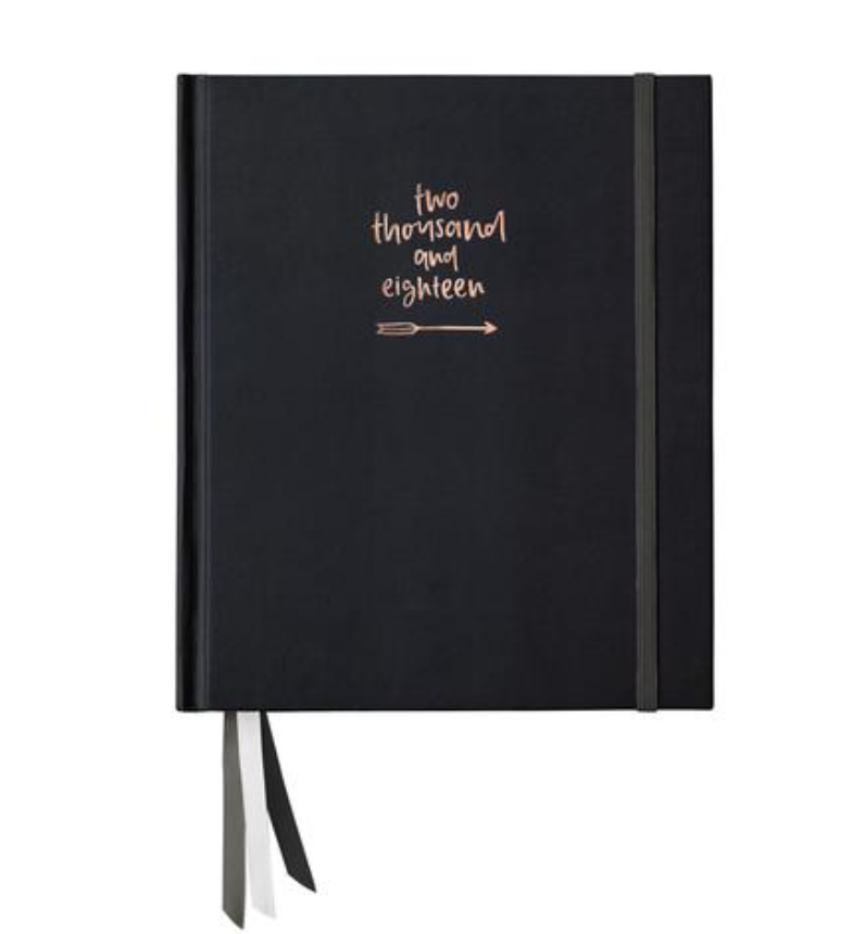 EMMA KATE CO 2018 Planner  - Black
