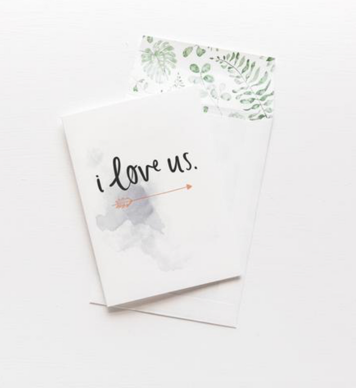 EMMA KATE CO  I love us Greeting Card