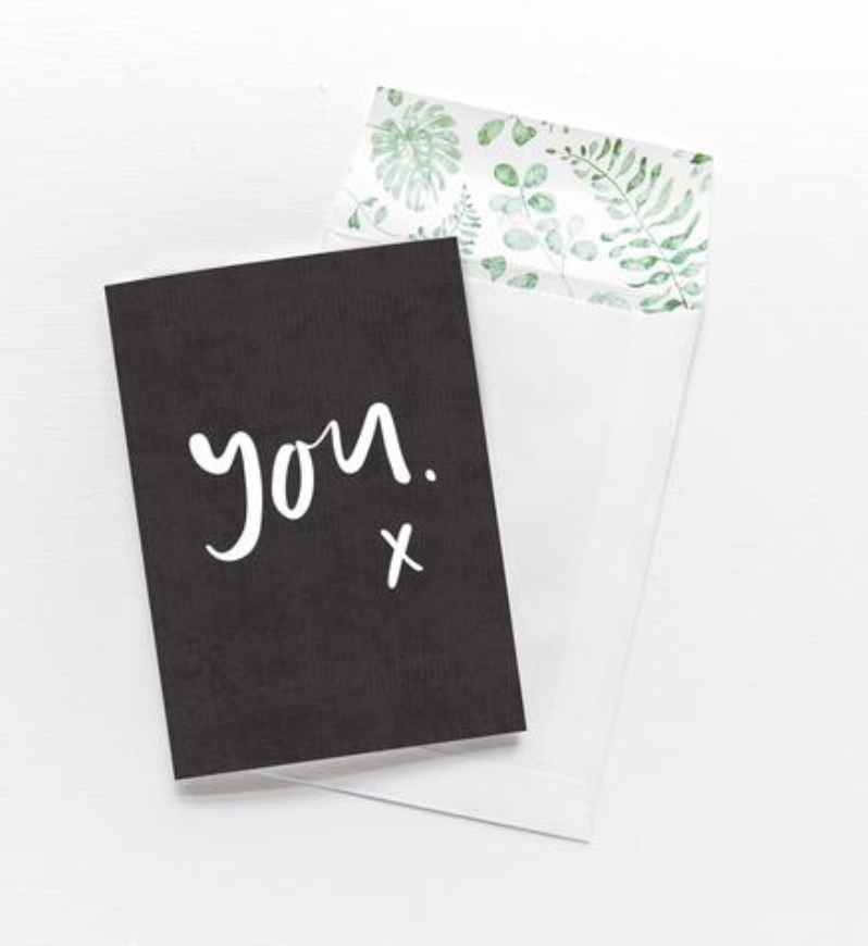 EMMA KATE CO 'YOU' Greeting Card