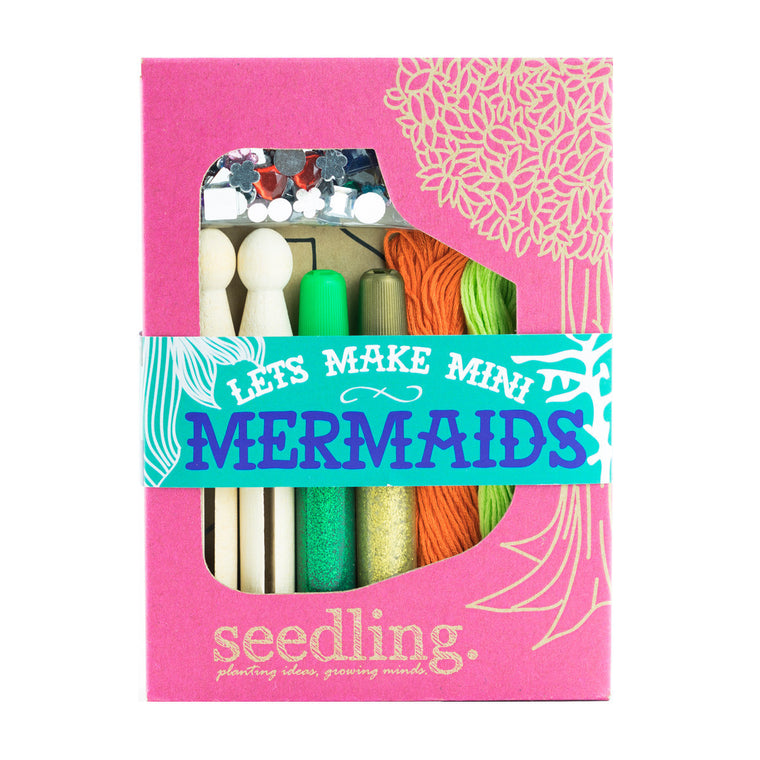SEEDLING Let's Make Mini Mermaids