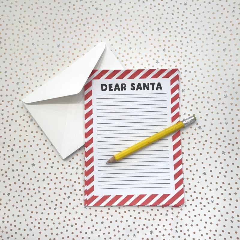 LITTLE PAPER LANE Dear Santa Letterset- traditional