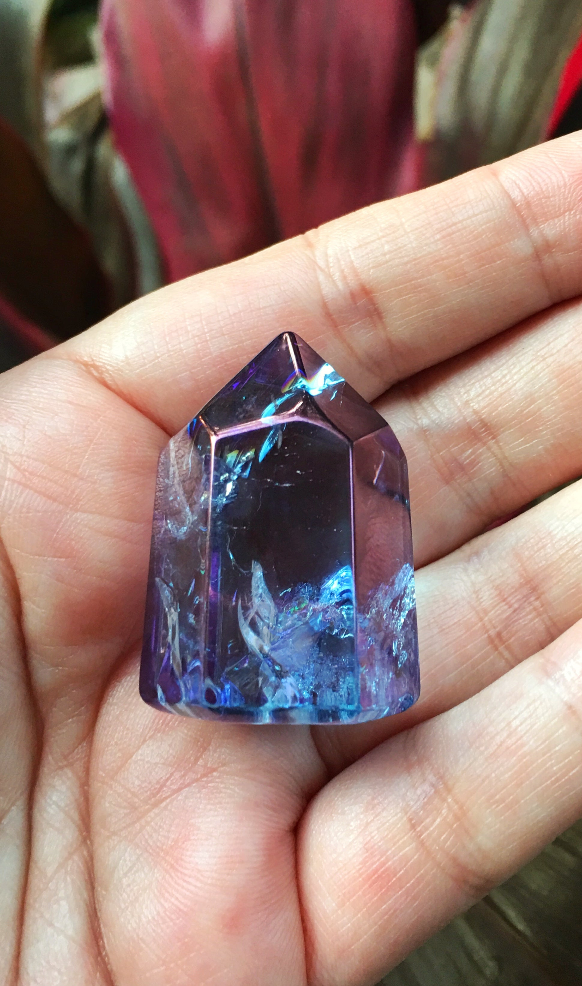 LITTLE PAPER LANE Crystals- Cosmo Aura $79(a)