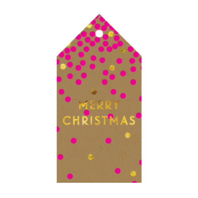 CANDLEBARK Sparkle Pop gift tag set of 10