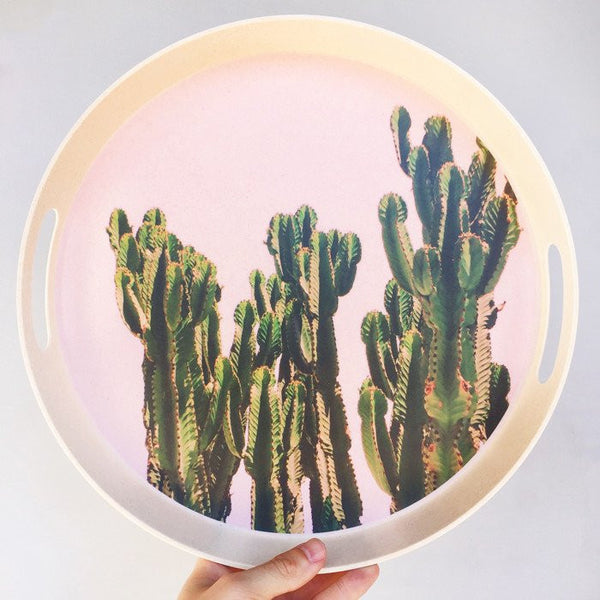 Whitemoose Melamine Photo Trays- Cactus