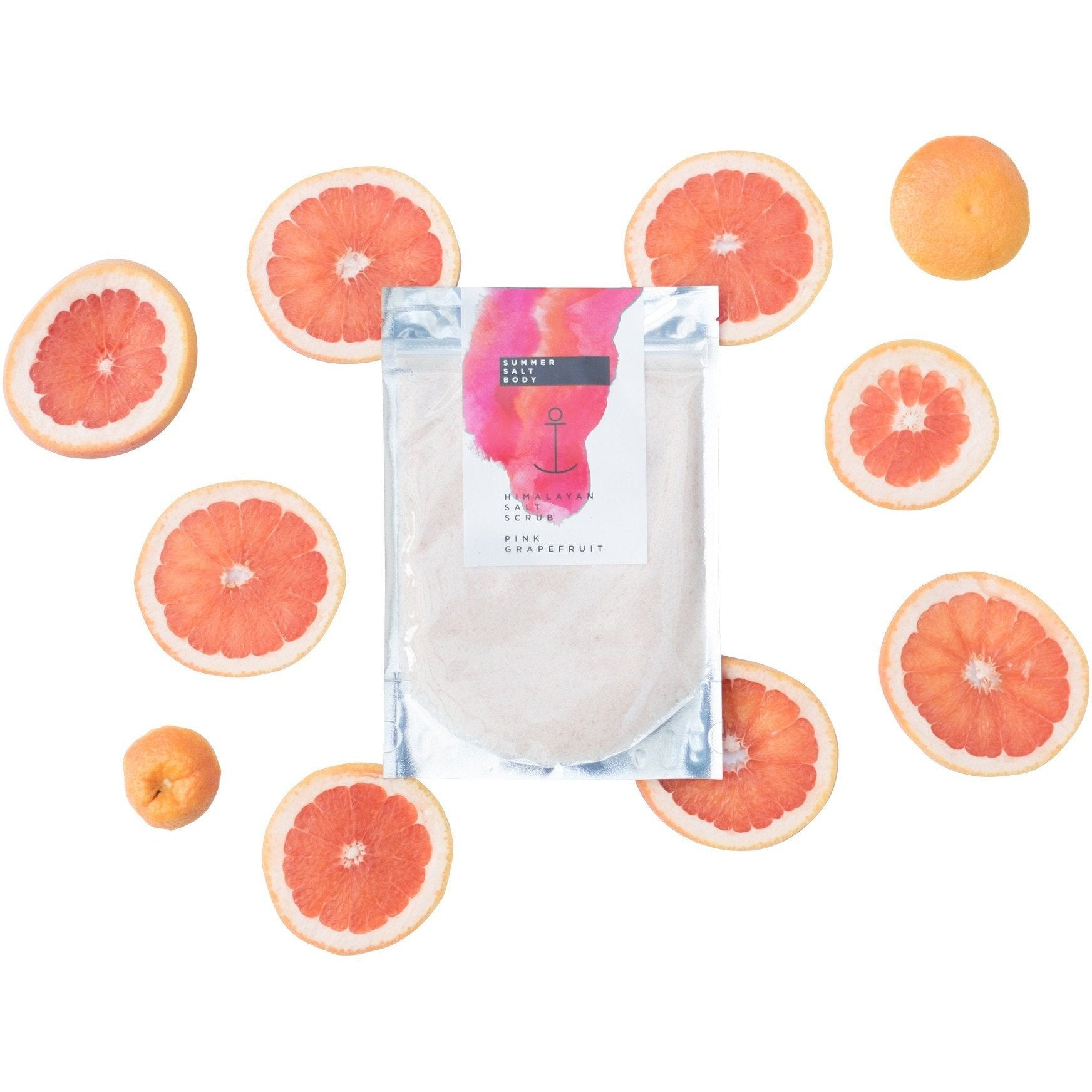 SUMMER SALT BODY-Pink Grapefruit Himalayan Salt Scrub 240g