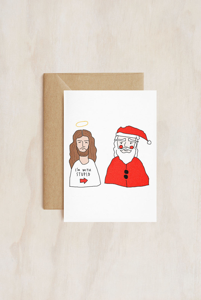TAY HAM - Single Card - Stupid Santa