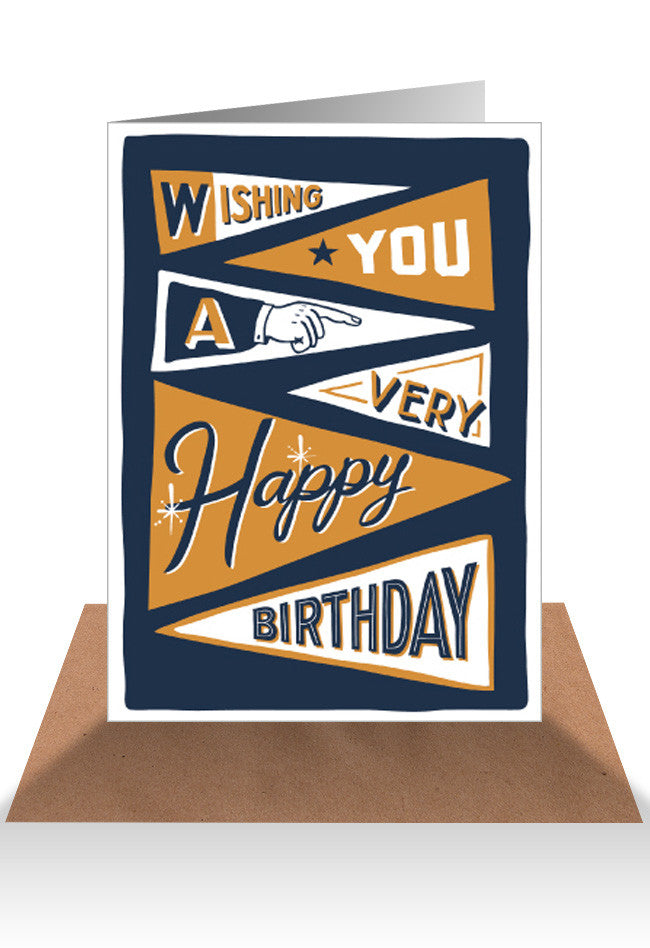 AHD Wishing you a happy birthday card